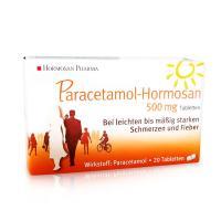 PARACETAMOL Hormosan 500 mg Tabletten