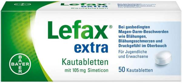 Lefax extra 50 Kautabletten
