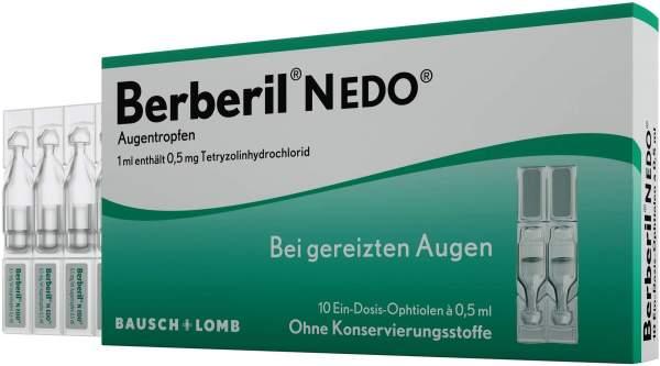 Berberil N EDO Augentropfen 10 x 0,5 ml