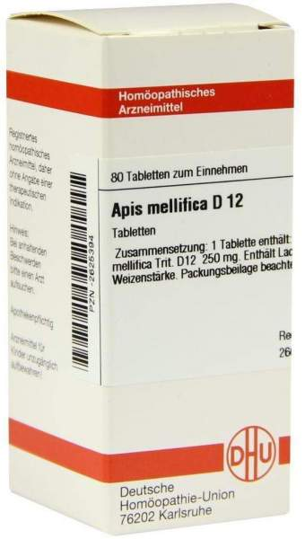 Apis Mellifica D 12 Tabletten 80 Tabletten