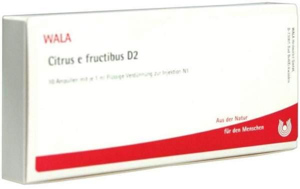 Wala Citrus E Fructibus D2 10x1ml Ampullen