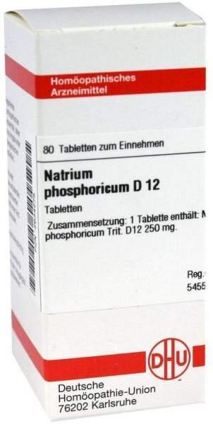 Natrium Phosphoricum D 12 80 Tabletten
