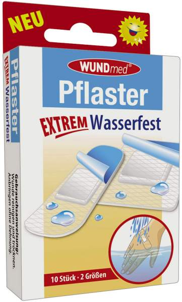 Pflaster Extrem Wasserfest 10 Stück in 2 Größen