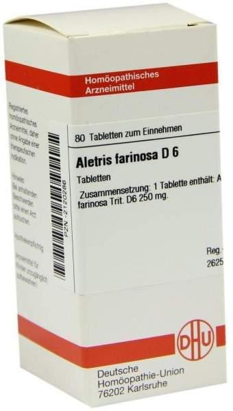 Aletris Farinosa D 6 Tabletten