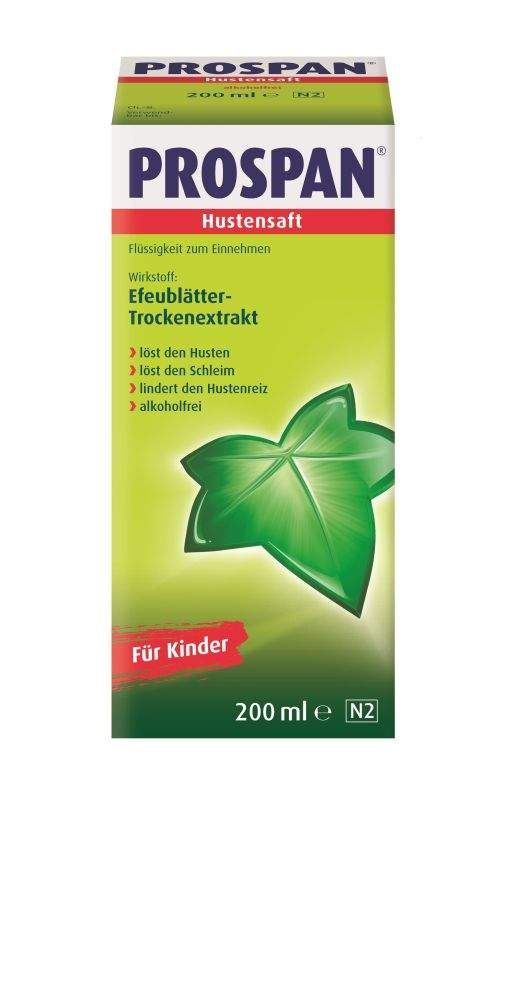 Prospan Hustensaft 200 ml Saft