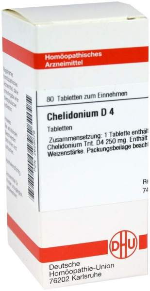Chelidonium D4 Dhu 80 Tabletten