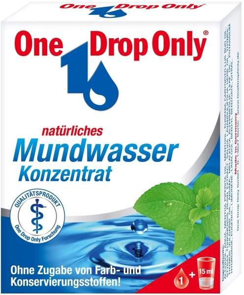 One Drop Only Natürlich Mundwasser 50 ml Konzentrat
