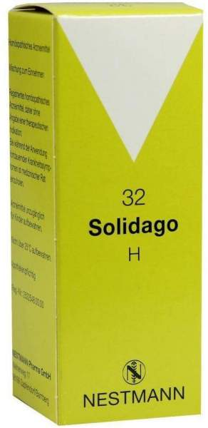Solidago H 32 Tropfen 50 ml Tropfen