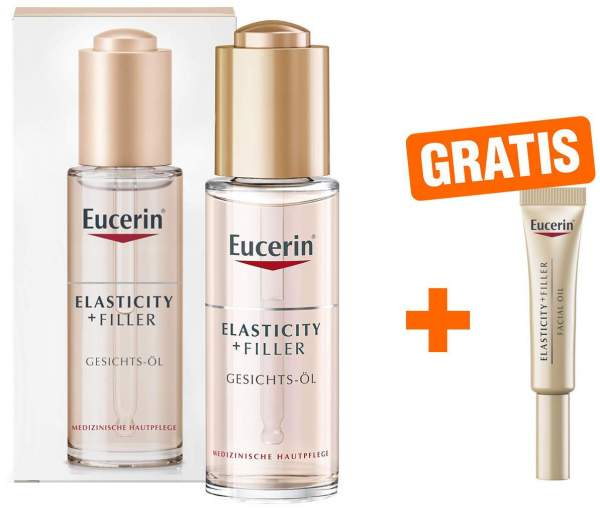 Eucerin Anti Age Elasticity + Filler Gesichtsöl 30 ml + gratis 5 ml