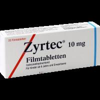 Zyrtec 10 mg 20 Filmtabletten