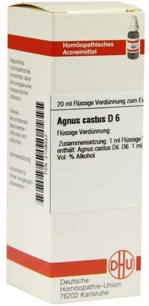 Agnus Castus D6 20 ml Dilution