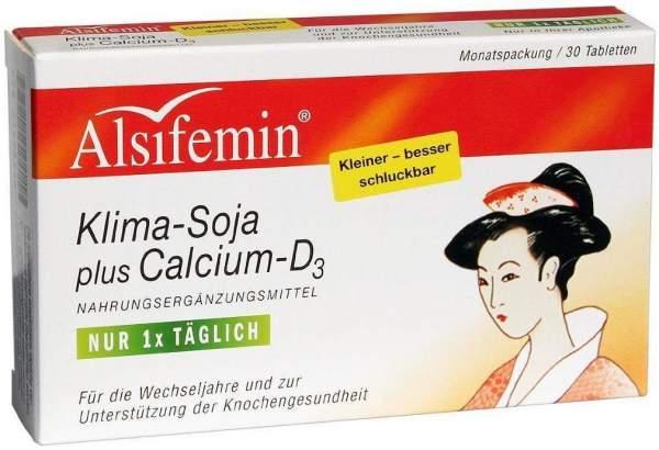 Alsifemin Klima Soja und Calcium und D3 - 30 Tabletten