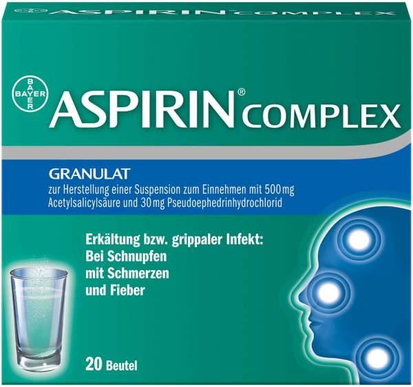Aspirin Complex 20 Beutel Granulat