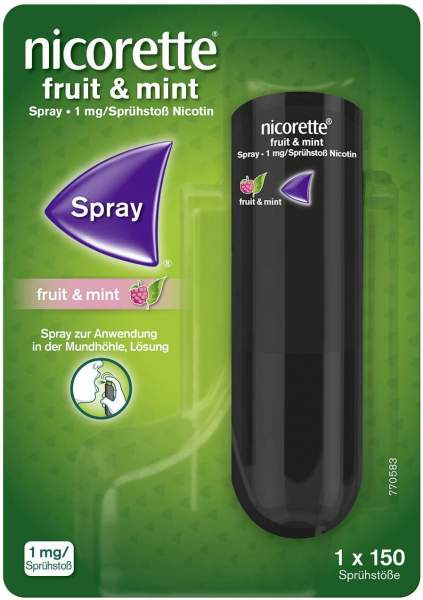 Nicorette Fruit und Mint Spray 13,2 ml