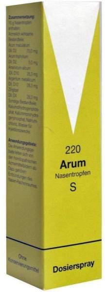 Arum Nasentropfen S 220 10 G Tropfen