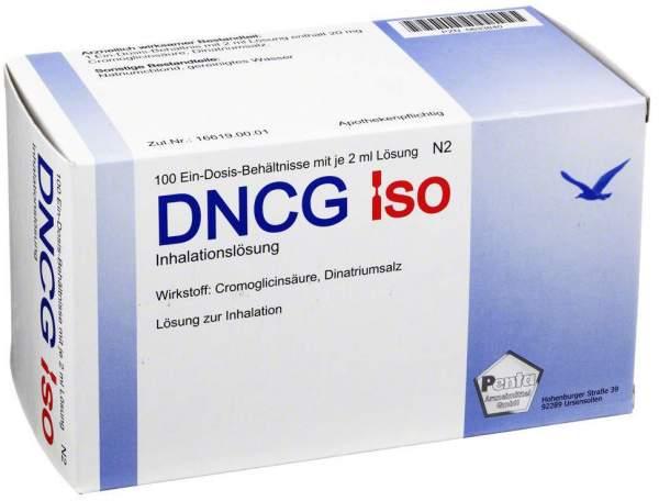 Dncg Iso Inhalationslösung 100 x 2 ml Inhalationslösung