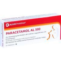 Paracetamol Al 500 Tabletten