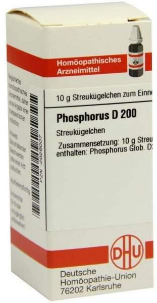 Phosphorus D 200 10 G Globuli
