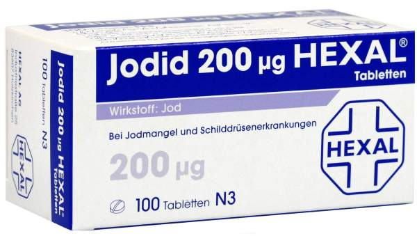 Jodid 200 µg Hexal 100 Tabletten