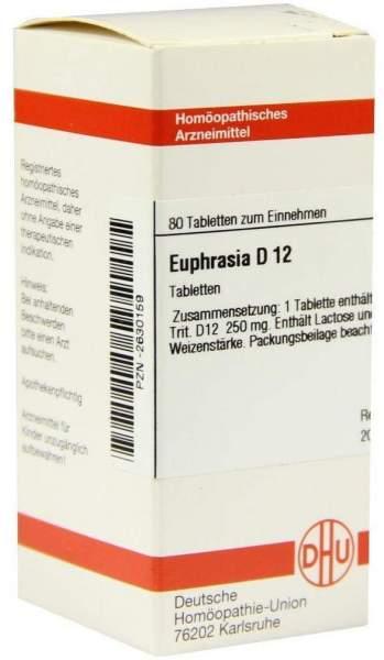 Euphrasia D 12 Tabletten