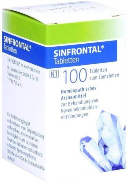 Sinfrontal 100 Tabletten