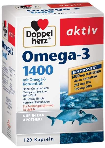 Doppelherz Omega3 1.400 120 Kapseln