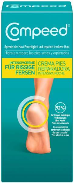 Compeed Intensivcreme Für Rissige Fersen 75 ml Creme