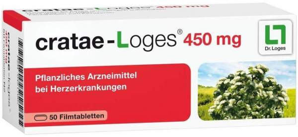 Cratae Loges 450 mg 50 Filmtabletten