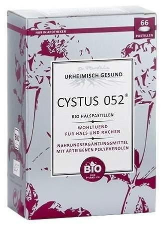 Cystus 052 Bio 60 Halspastillen