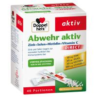 Doppelherz Abwehr aktiv Direct Zink und Selen Histidin Pellets 40  Pellets