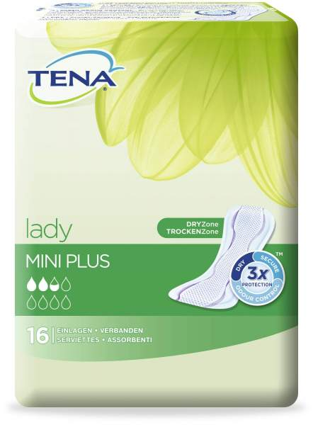 Tena lady mini plus 16 Einlagen