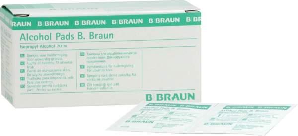Alcohol Pads B. Braun 100 Tupfer