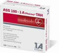 Ass 100 1A Pharma TAH 100 Tabletten
