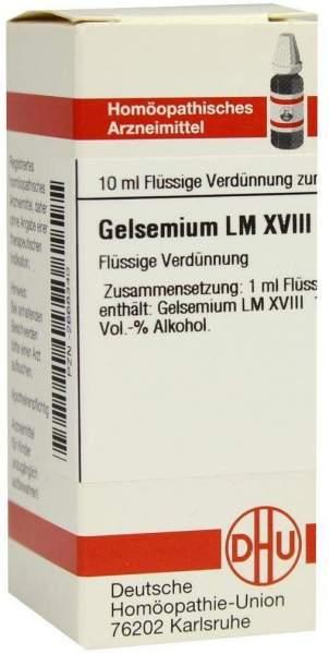 Lm Gelsemium Xviii Dilution
