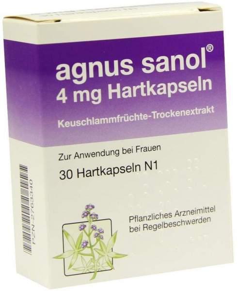 Agnus Sanol 4 mg Hartkapseln 30 Hartkapseln
