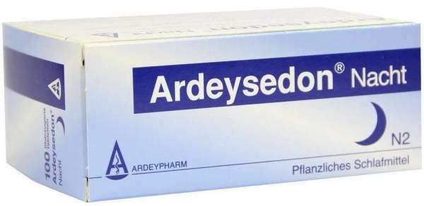 Ardeysedon Nacht 100 Überzogene Tabletten