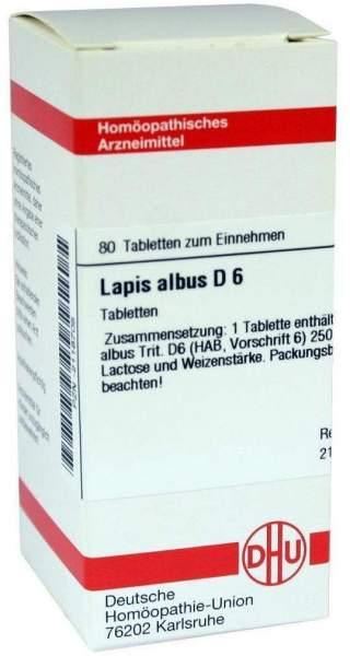 Lapis Albus D 6 Tabletten