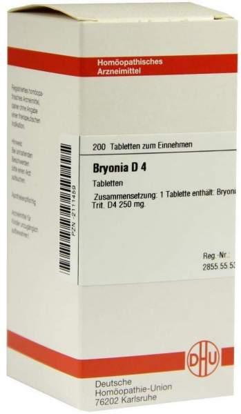 Bryonia D4 Dhu 200 Tabletten