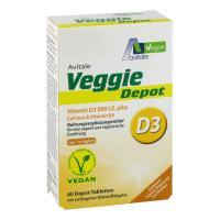 Veggie Depot Vitamin D3 800 I.E. plus Calcium plus B5 60 Tabletten