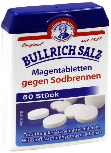 Bullrich Salz 50 Tabletten