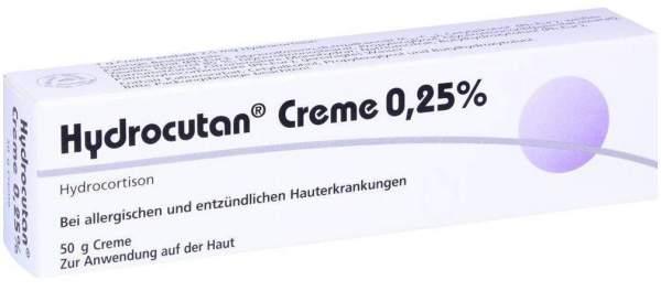 Hydrocutan 0,25 % 50 G Creme