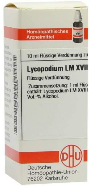 Dhu Lycopodium Lm Xviii Dilution