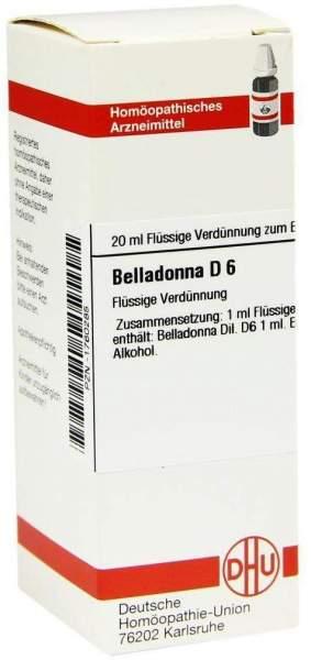 Belladonna D6 20 ml Dilution