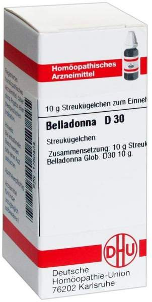 Belladonna D30 10 G Globuli