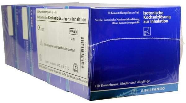 Isotonische Kochsalzlösung zur Inhalation 100 X 5 ml