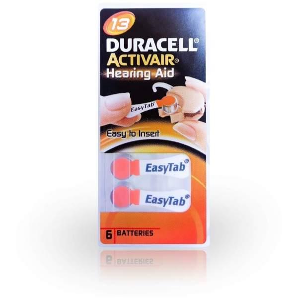 Batterien Für Hörgeräte Duracell 13