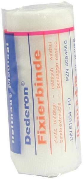 Dederon Fixierbinde 4 M X 8 cm 1 Binde