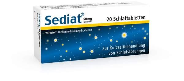 Sediat Tabletten 20 Tabletten