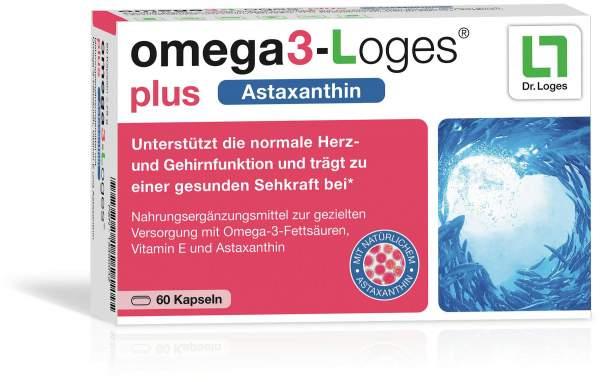 Omega3-Loges Plus Kapseln 60 Stück