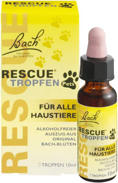 Bach Original Rescue Pets 10 ml Tropfen
